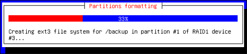 Partitioning...