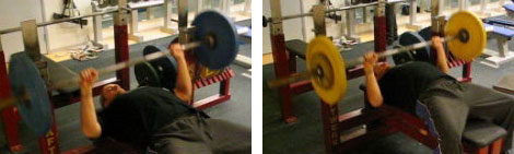 comparison between my normal bench and better tuck